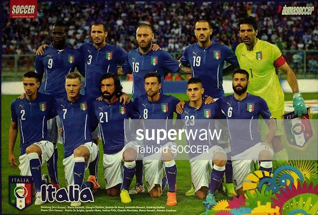 Italy Team Squad 2014