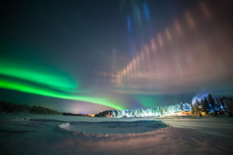 Удивительные виды ночного неба зимой (20 фото)