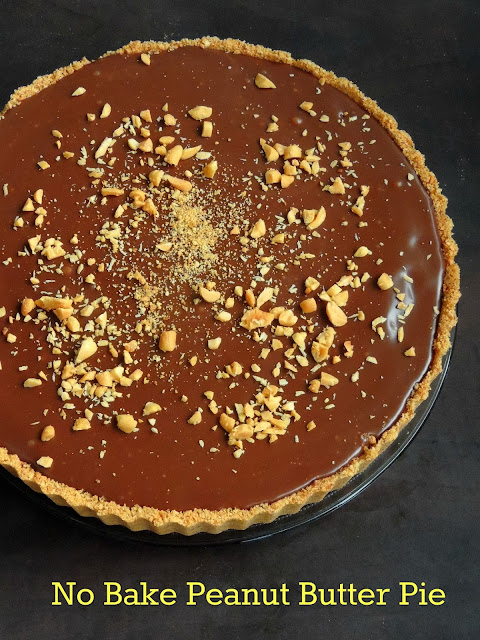 No Bake Peanut Butter Pie, No Bake Pie