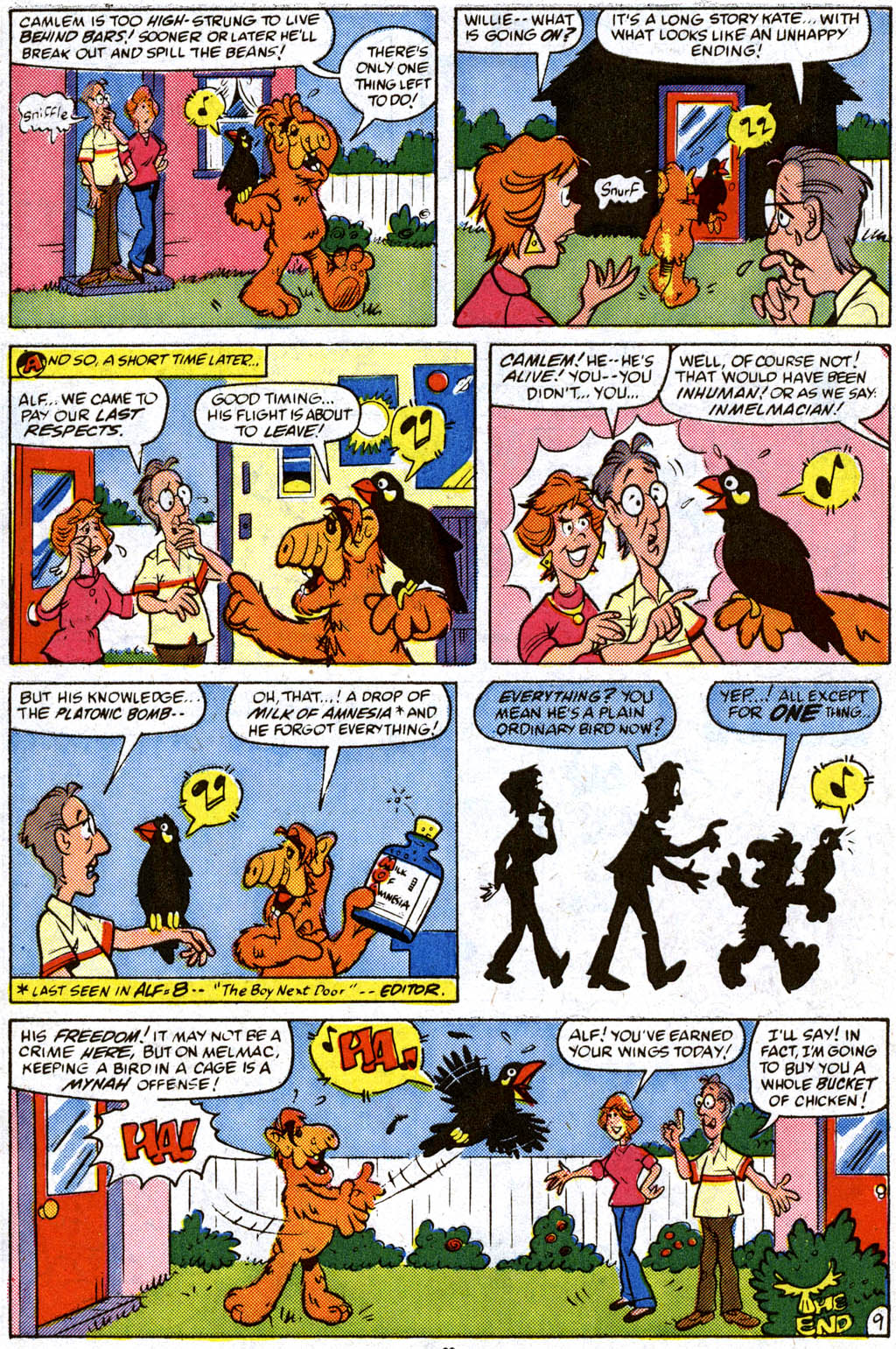 Read online ALF comic -  Issue #11 - 23