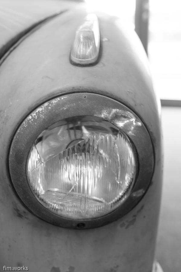 fim.works | Fotografie. Leben. Wohnen. | SchwarzWeissBlick No 29 | Schuppen Eins Bremen | Borgward Goliath Cabrio Baujahr 1951