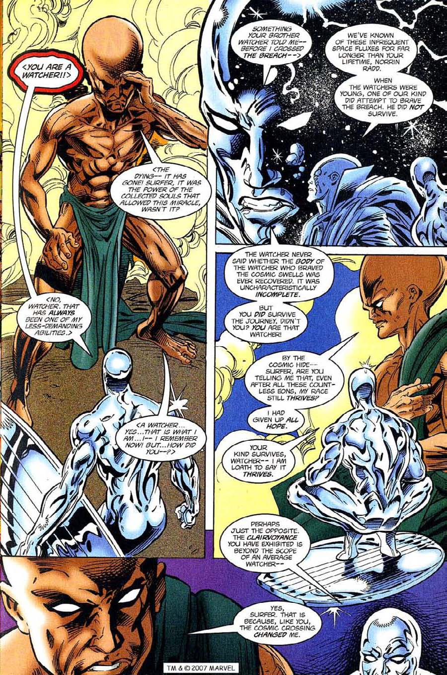 Read online Silver Surfer (1987) comic -  Issue #119 - 9