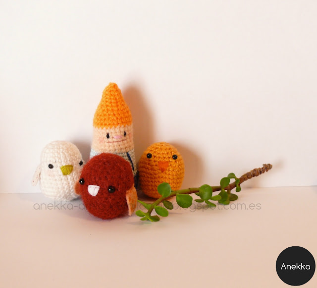 crochet toys collection