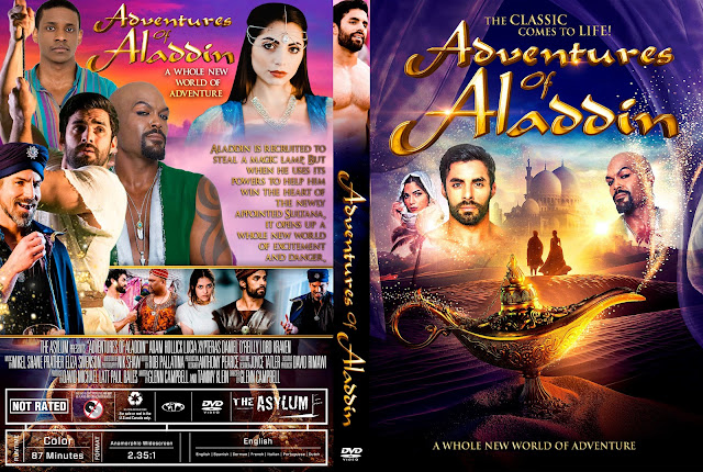 Adventures of Aladdin DVD Cover