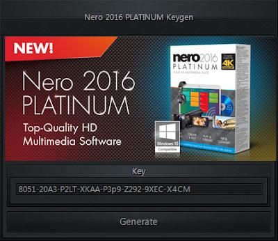 Nero 2016 Platinum 17.0.04500 Full Version