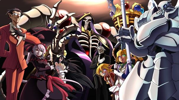 Best  Madhouse Anime list - Overlord