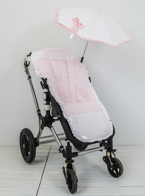 colchoneta carrito batista rosa