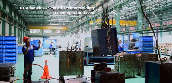 Lowongan Kerja PT Adyawinsa Sekisui Techno Molding Terbaru