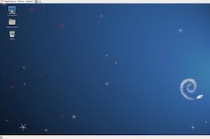 debian linux