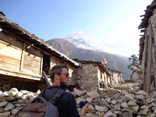 Amazing Village of Manaslu trek Nepal