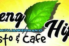 Lowongan Geng Hijau Cafe & Resto Pekanbaru Juni 2018
