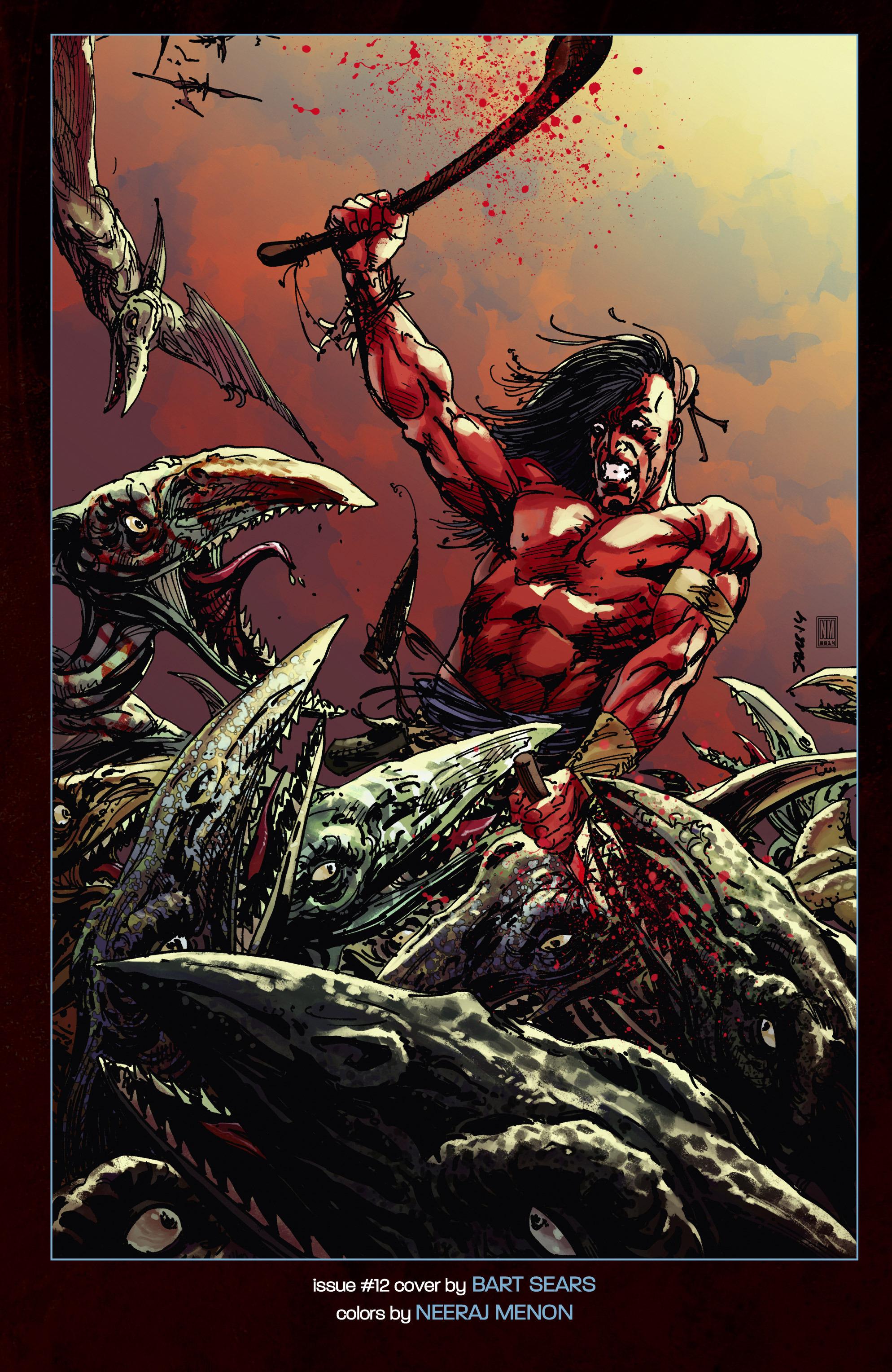 Read online Turok: Dinosaur Hunter (2014) comic -  Issue # _TPB 3 - 120