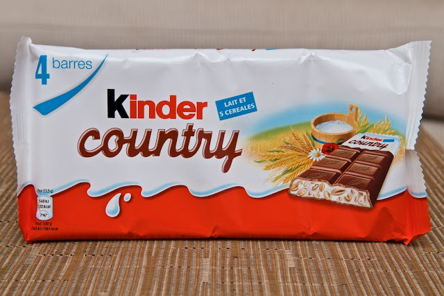 Kinder Country - Snack - Breakfast - Dessert - Chocolat au lait - Chocolat - Milk - Lait - Milk chocolate - Kinder - Ferrero - Child - Kinder céréales - Kinder cereals