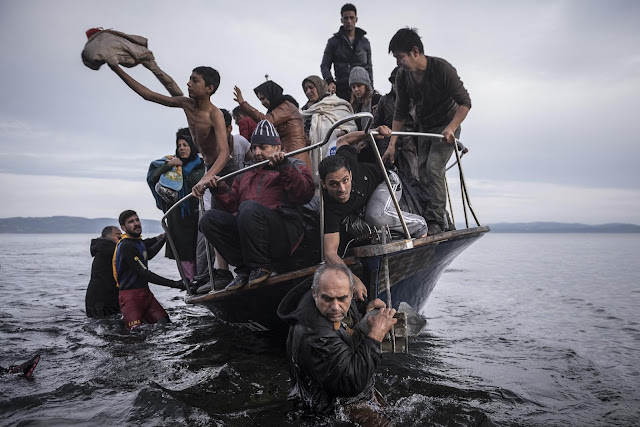 Green Pear Diaries, fotografía, World Press Photo Contest 2016, Reporting Europe's Refugee Crisis, Sergey Ponomarev