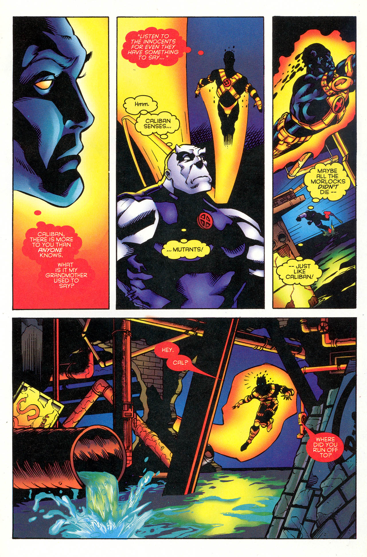 Read online X-Force (1991) comic -  Issue #49 - 13