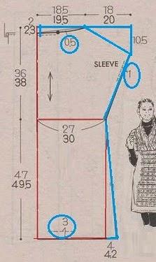 como dibujar un patron chino