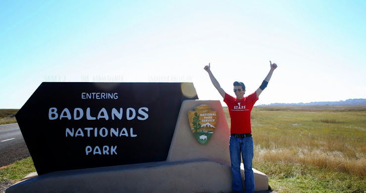 West to Colorado: Stopping at the Badlands