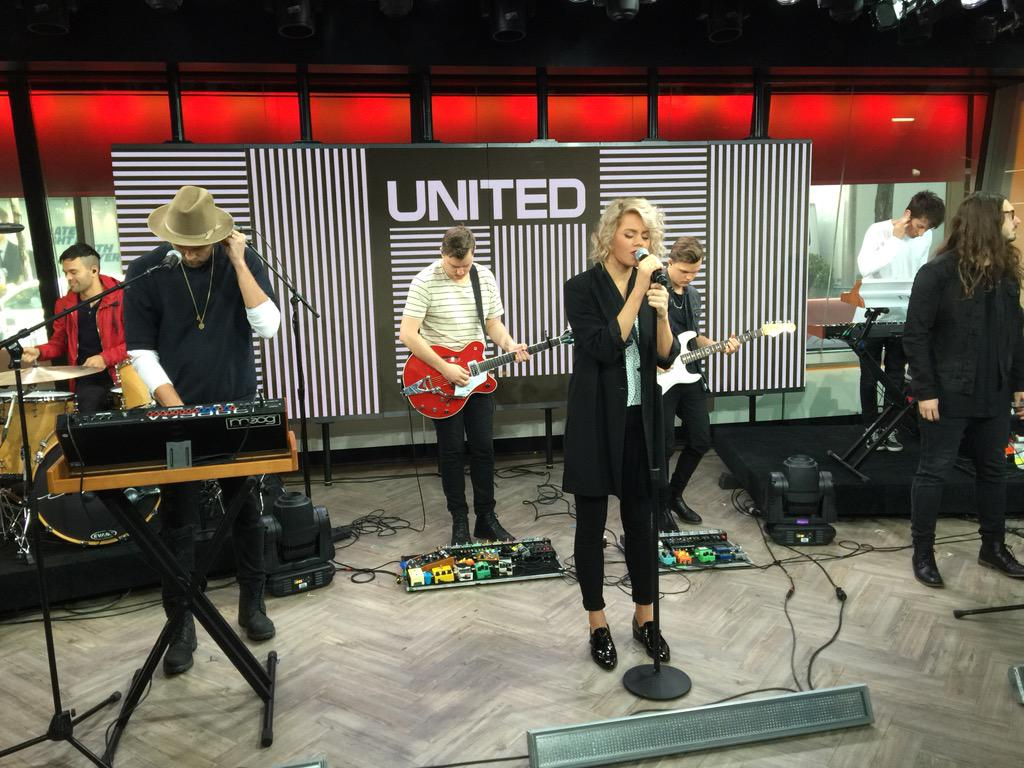 Hillsong United - Empires 2015 practise session