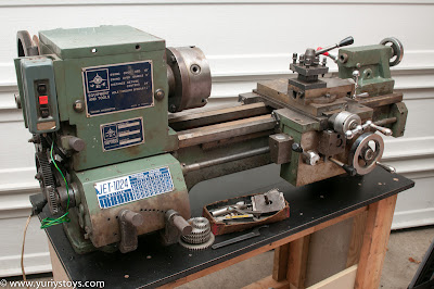 My New 30 Year Old Jet 1024 Lathe Yuriy S Toys