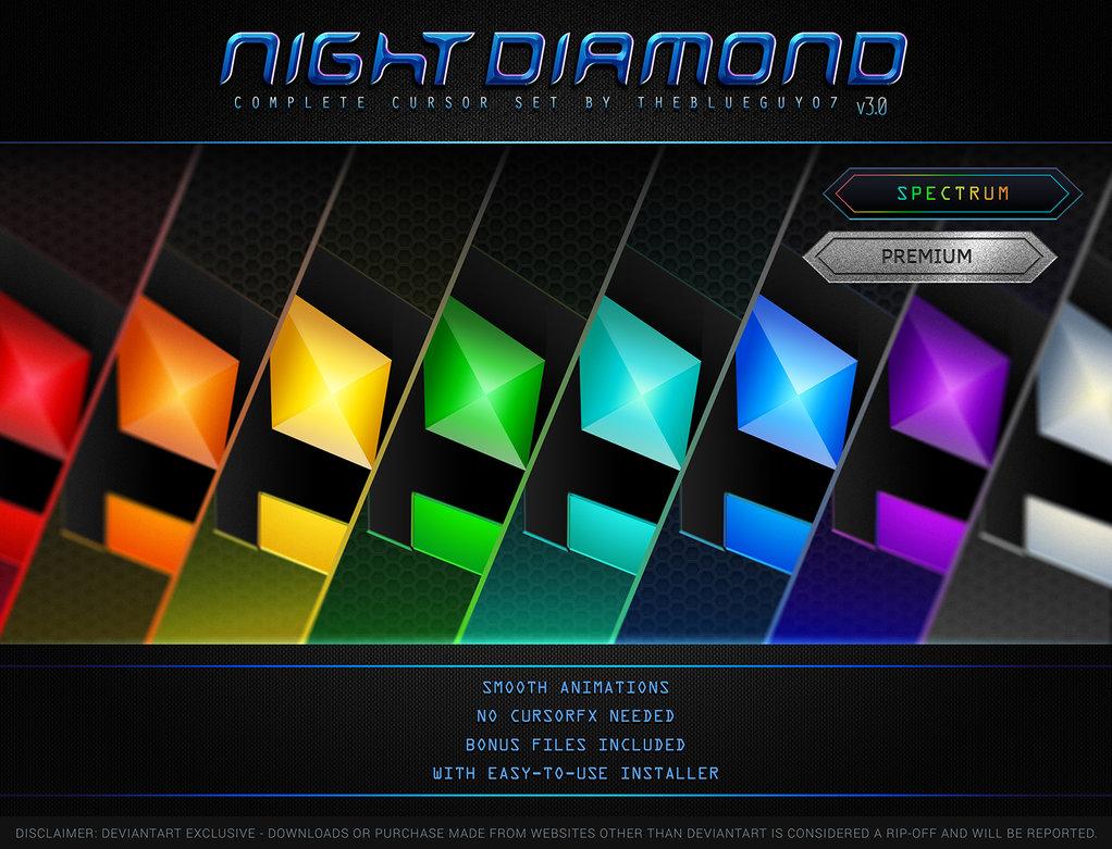 Windows Customs: Night Diamond v3 0
