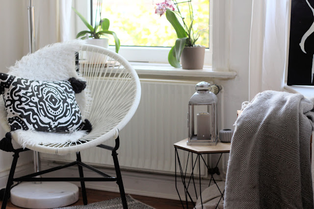 Ikea, Mexicochair, Decken, Lesen, Bücher, Scandinavisches Design
