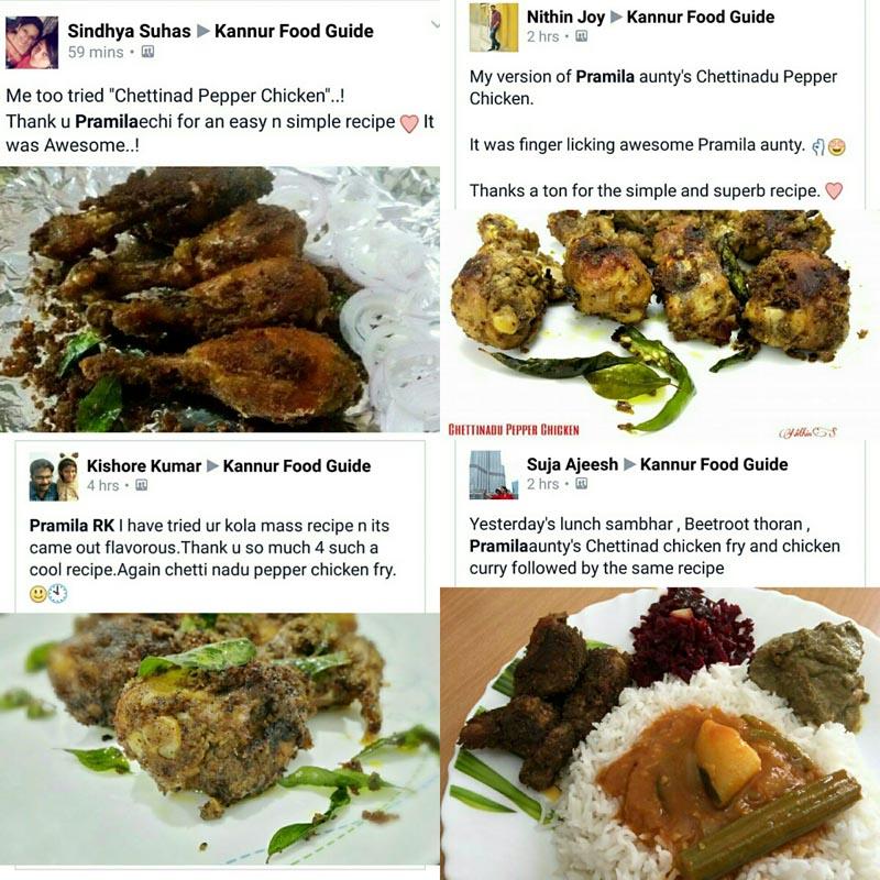 Recipe - Chettinad Pepper Chicken