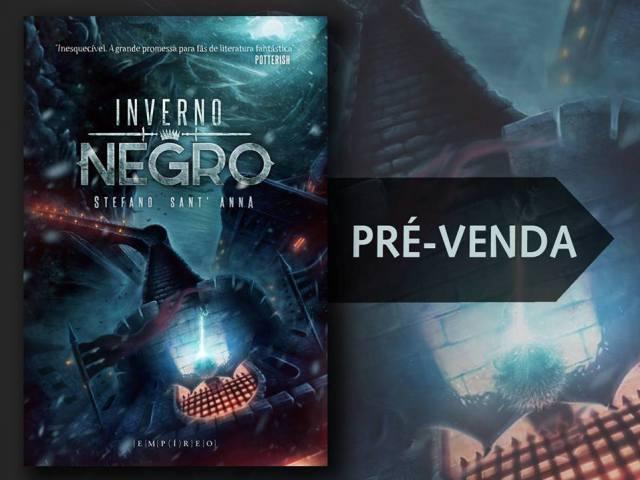 Capa Livro Inverno Negro Stefano Sant'anna Editora Empíreo