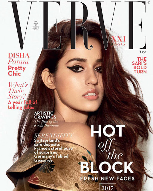 Disha Patani goes the chic route, graces the January issue of Verve magazine!