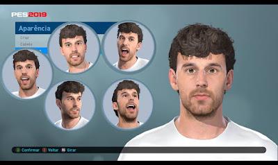 PES 2019 Faces Ruben Pardo By Lucas Facemaker
