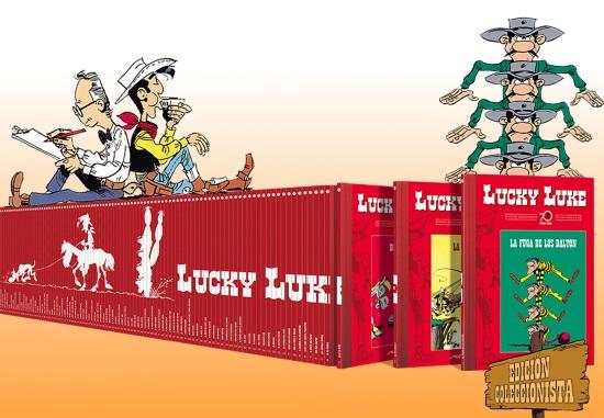 Lucky Luke, Edición Coleccionista 70 Aniversario de Planeta DeAgostini