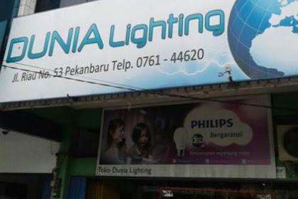 Lowongan Toko Dunia Lighting Pekanbaru Desember 2018
