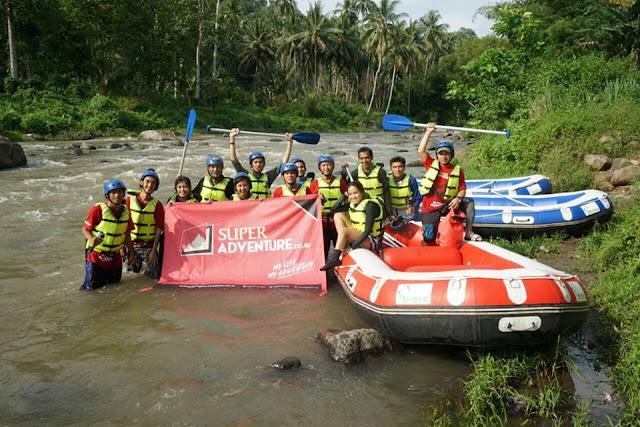 rafting sungai nimanga