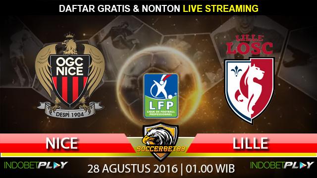 Prediksi Nice vs Lille 28 Agustus 2016 (Liga Prancis)