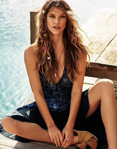 Nina Agdal sexy photo shoot Cosmopolitan Magazine