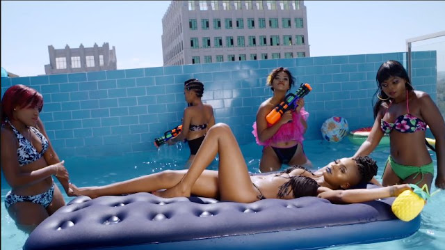 BRAND NEW MUSIC VIDEO:  Rosa Ree Ft G Nako - Dip n' Whine It