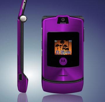 Motorola v3i tím
