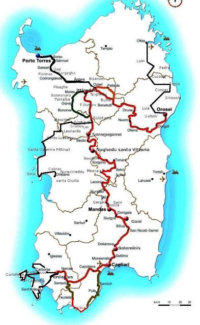 Mapa za Caminando.eu