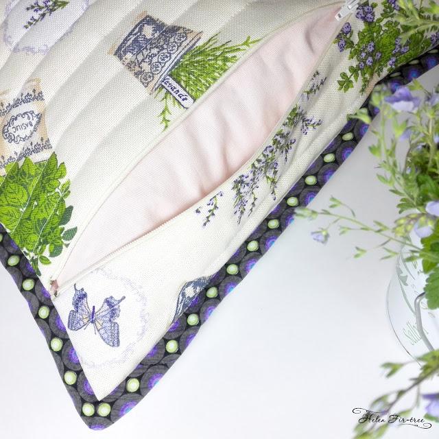 Helen Fir-tree MK lavender pillow МК подушка лаванда