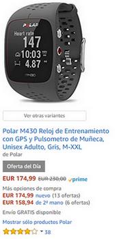 Reloj GPS - Black Friday