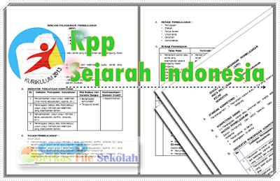 RPP Sejarah Indonesia SMA Kelas X Kurikulum 2013  Terbaru [ Berkas File Sekolah]