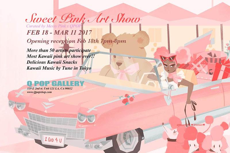 Sweet Pink Art Show