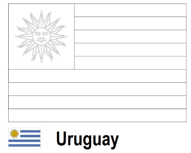 Geography Blog Banderas Para Colorear Los 32 Países Clasificados