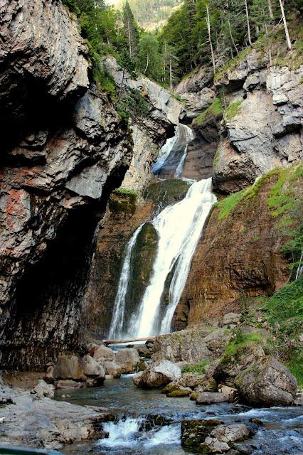 Cascada Arripas. Valle de Ordesa
