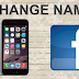 Change My Name On Facebook