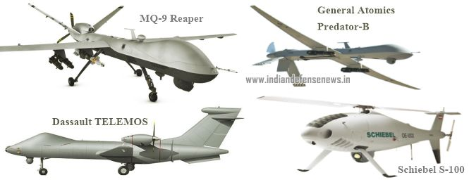 Indian MOD Issues RFI For Medium Altitude Long Endurance MALE Drone