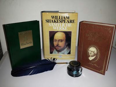 William Shaespeare, Johann Wolfgang von Goethe