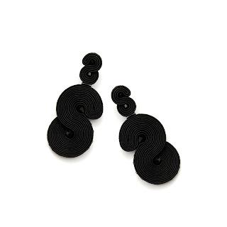 black-statement-earrings