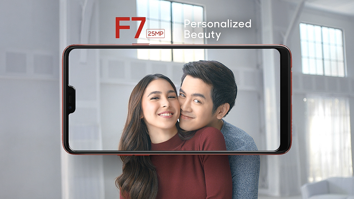 This is E-Life: Julia Barretto in OPPO F7 TVC Commercial