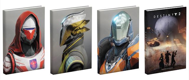 On a reçu le Guide officiel Destiny 2