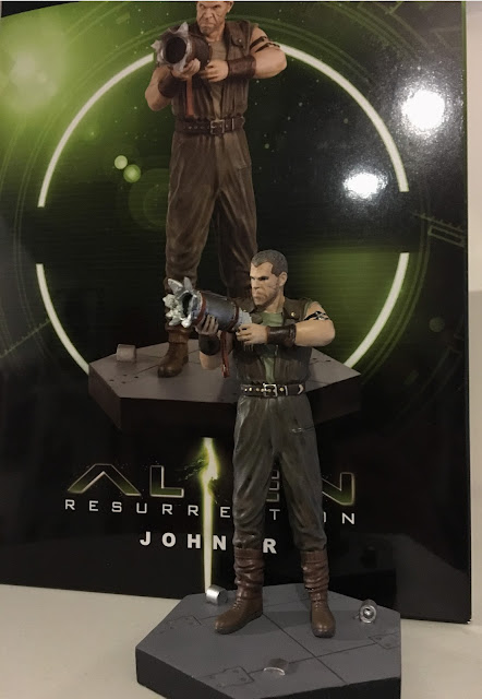 Issue 12 of the Alien and Predator figurine collection - Johner